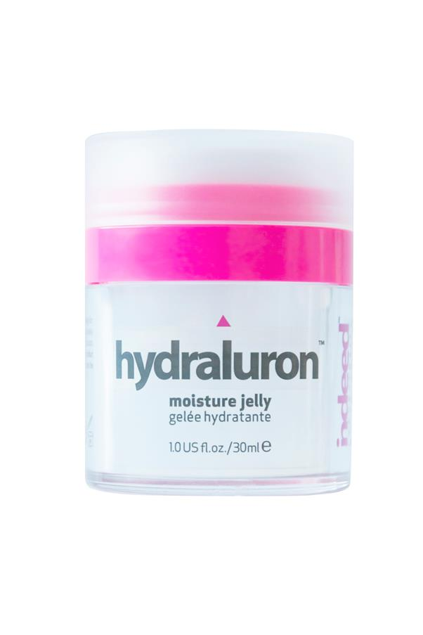 "<p><strong>H = Hyaluronic acid</strong></p> <p>Hyaluronic acid can hold over 1,000 times its weight in water and is used to boost the skin's elasticity, making it look fuller and evening out fine lines. </p> <p><em>Hydraluron Moisture Jelly, $39.95, Indeed Laboratories, <a href=""http://indeedlabs.com/"">indeedlabs.com</a> </em></p>"