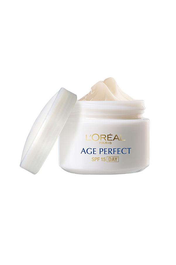"<p><strong>P = Peptides</strong></p> <p>Peptides are proteins made up of amino acids that function as moisture-binding agents on the skin's surface. </p> <p><em>Age Perfect Hydrating Skin Re-Support Day Cream, $32.95, L'Oréal Paris, <a href=""http://www.lorealparis.com.au/_en/_au/home/index.aspx "">lorealparis.com.au</a> </em></p>"