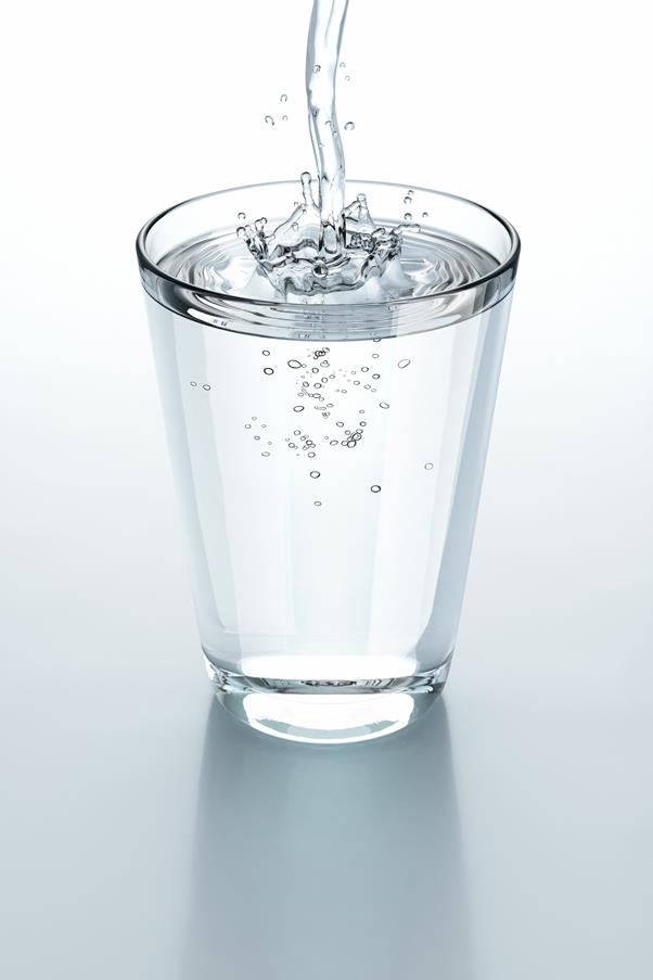 <p><strong>W = Water</strong></p> <p>Water is essential to functions in the body, including the skin. Dehydration can cause sagging, fine lines, a loss of volume and a lacklustre complexion.</p>