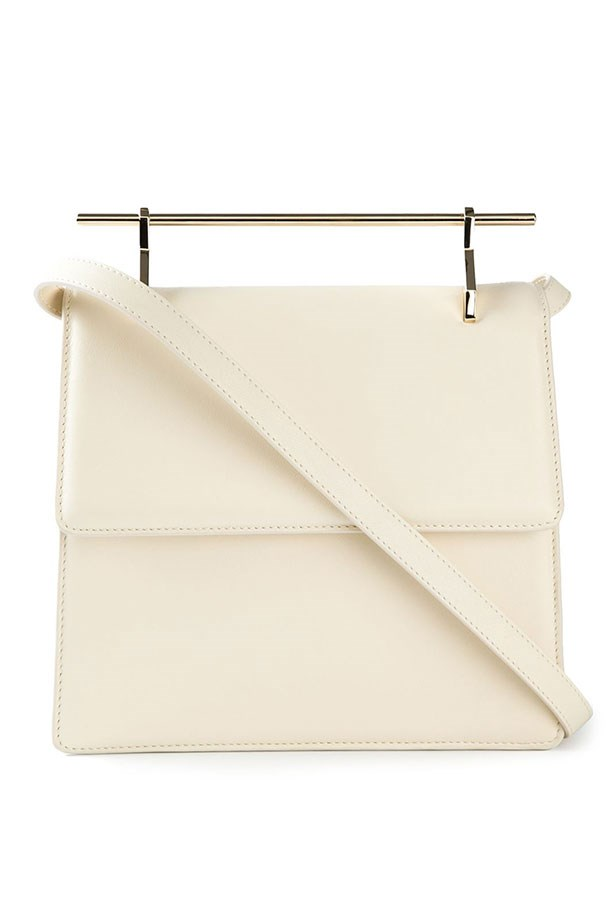 "Bag, $1,324, M2Malletier, <a href=""http://www.farfetch.com/au/shopping/women/m2malletier-top-bar-shoulder-bag-item-11017452.aspx?storeid=9446&ffref=lp_169_2_"">farfetch.com</a>"