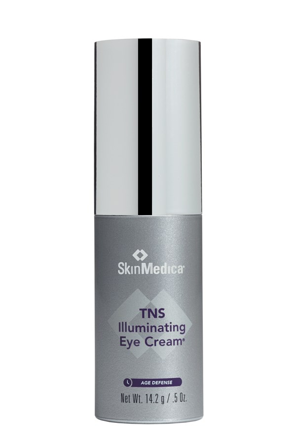 "<p>A wrinkle targeting cream that reduces the appearance of fine lines and dark circles with anti-aging peptides to promote collagen regrowth.</p> <p><em>TNS Illuminating Eye Cream, $105.60, Skinmedica, <a href=""http://www.advancedskintechnology.com.au/"">advancedskintechnology.com.au</a> </em></p>"