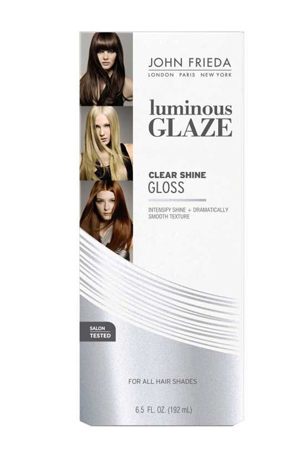 """<p><strong>Enhance shine with an in-shower gloss.</strong></p> <p>Shiny, lustrous strands are a mark of youth, but age and day-to-day damage from heat styling and product use can strip hair of its natural sheen. Revive lacklustre strands with an in-shower gloss, just a few minutes will transform hair to look brighter, shiner and younger. <p> <p><em>Clear Shine Luminous Glaze, $19.99, John Frieda, <a href=""""http://www.johnfrieda.com.au/Home/"""">johnfrieda.com.au</a> </em></p>"""