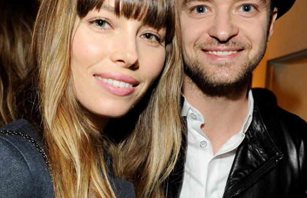The first photo of Justin Timberlake and Jessica Biel's baby is here