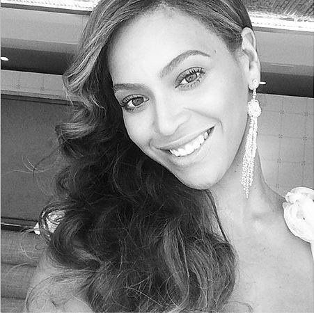 Though it was never confirmed, Beyonce was also rumoured to play bridesmaid at Destiny's Child bandmate Kelly Rowland's wedding in May 2014. But she did post this suggestive selfie on the day of the nuptials.