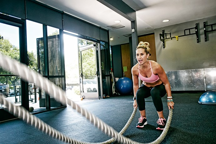 """<p><strong>Break out the battle ropes</strong></p> <p>""""My secret weapon is a set of ropes that wouldn't look out of place on a ship's deck. My clients love the challenge of turning them into a killer cardio and upper-body workout. Ropes are extremely demanding on the body as they focus on the Holy Grail of athletic performance, power endurance – the ability to apply maximal force, at maximal speed, for a maximum amount of time. This burns a huge amount of calories and improves strength and fitness."""" <p><em>Rob Lyon, exercise physiologist and personal trainer, <a href=""""http://atleta.com.au/"""">atleta.com.au</a> </em></p>"""