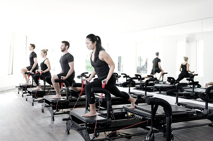 "<p><strong>Physicore</strong></p> <p>Amped-up pilates at a heart-pumping pace with next-gen equipment<p> <p><strong>Overview:</strong> Practised on a Megaformer machine, Physicore combines the core-strengthening principles of Pilates with interval resistance and cardio training. With a class size capped at six, the 50-minute session includes plenty of personal, alignment-focused attention. <p><strong>Verdict:</strong> Within the first few minutes of the class, I quickly learned everything – from a plank to a leg lift – is much more difficult when simultaneously attempting to balance on the Megaformer. Throw in hand weights and seemingly small, isometric moves had me out of breath in no time. If you've written off Pilates as just a housewife hobby, Physicore will change your mind – and your glutes.</p> <p><em><a href=""http://www.physicore.com.au/"">physicore.com.au</a></em></p>"