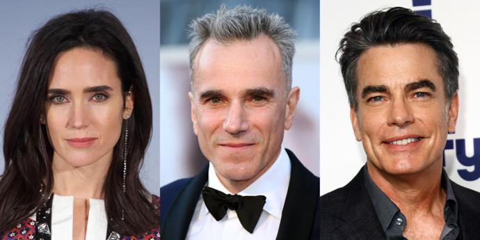 Jennifer Connelly, Daniel Day-Lewis and Peter Gallagher