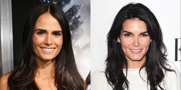 Jordana Brewster and Angie Harmon