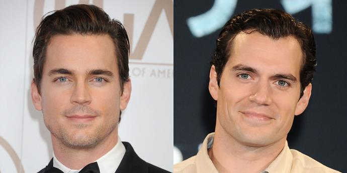 Matt Bomer and Henry Cavill