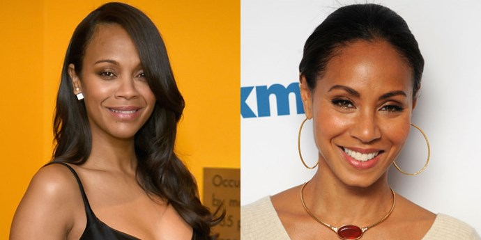 <strong>ZOE SALDANA AND JADA PINKETT-SMITH</strong>