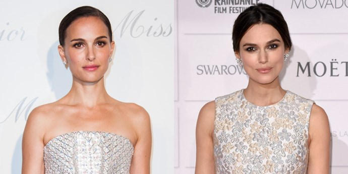 <strong>NATALIE PORTMAN AND KEIRA KNIGHTLEY</strong>