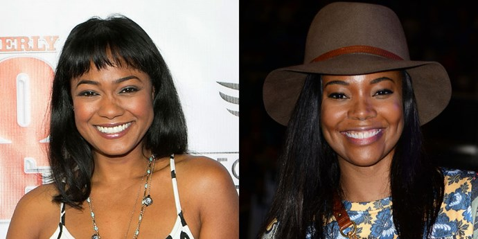 <strong>TATYANA ALI AND GABRIELLE UNION</strong>