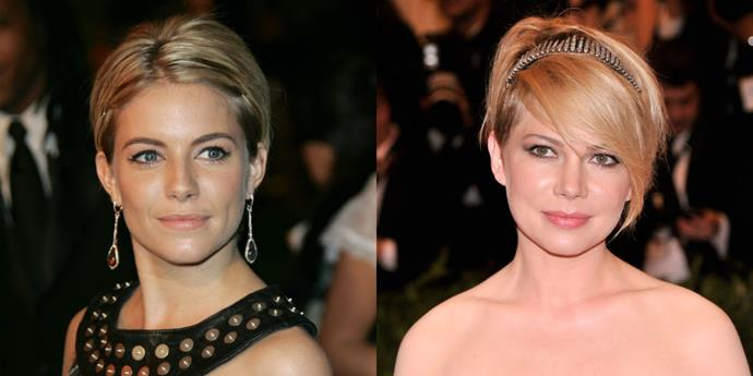 Sienna Miller and Michelle Williams