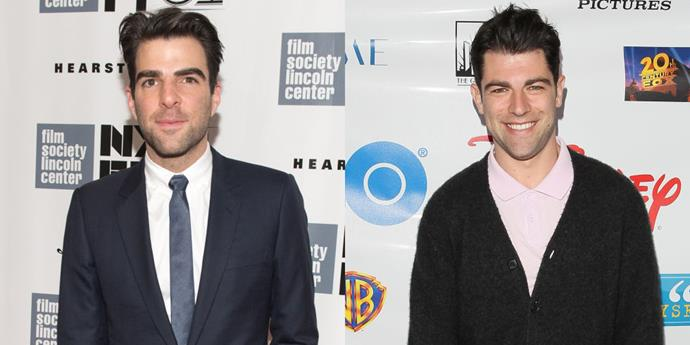 Zachary Quinto and Max Greenfield.