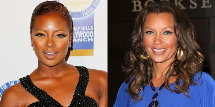 Eva Marcille and Vanessa Williams.