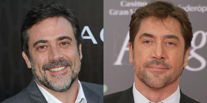 Jeffrey Dean Morgan and Javier Bardem.