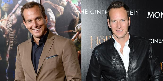 Will Arnett and Patrick Wilson.