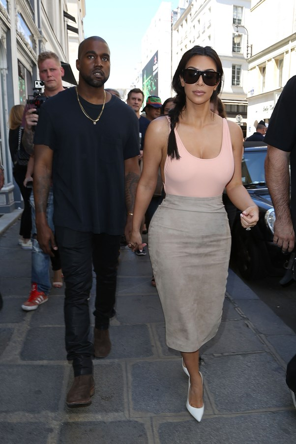 <strong>HUSHED PINK</strong> <br><em>May 2014</em> <br>Kim Kardashian
