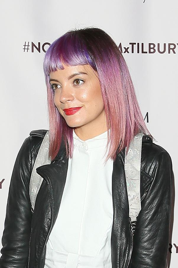 """<strong>Lily Allen</strong> <br>Lily is one chick who WON'T mess about. Especially when it comes to love it would seem. <br><br>The <em>Sheezus</em> singer piqued the interest of followers everywhere when she tweeted: """"Just discovered tinder. *waves goodbye to life*."""""""
