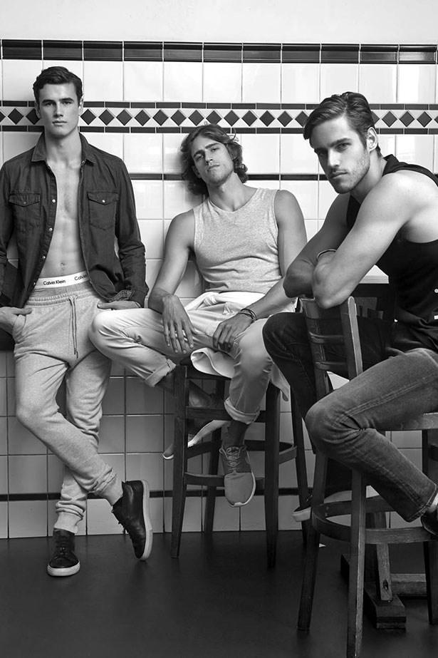 Louis, Zac and Jordan Stenmark <br><br>Image: StyleMeRomy