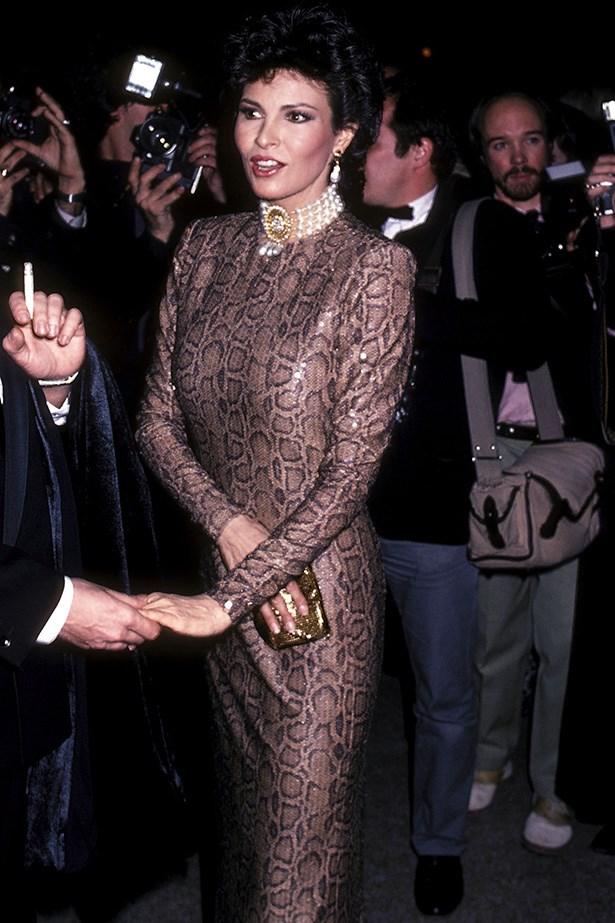 <strong>1982</strong <em><br>'La Belle Epoque'</em> <br>Actress Raquel Welch