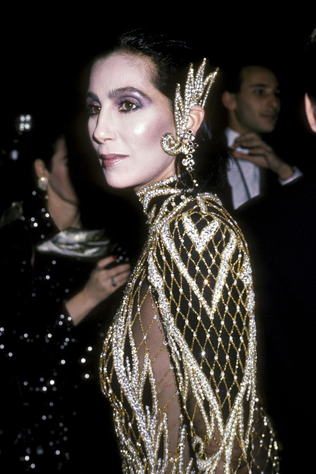 <strong>1985</strong <em><br>'Costumes of Royal India'</em> <br>Cher