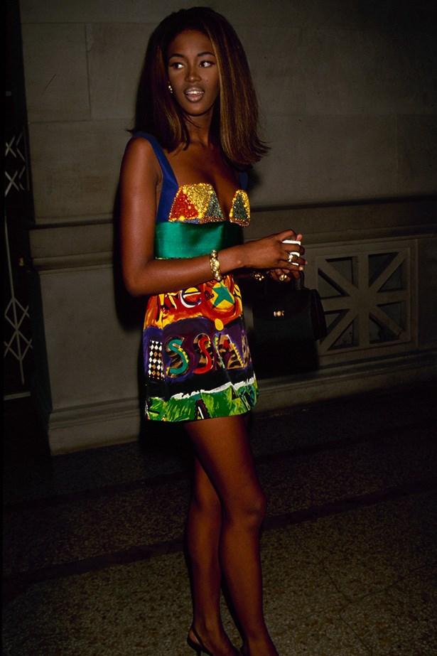 <strong>1990</strong <em><br>'Theatre de la Mode: Fashion Dolls'</em> <br>Naomi Campbell