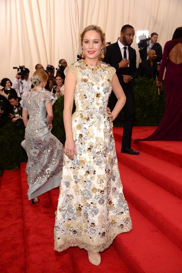 Brie Larson in Dolce & Gabbana