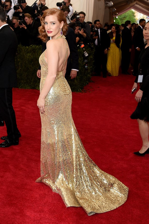 Jessica Chastain in Givenchy Haute Couture