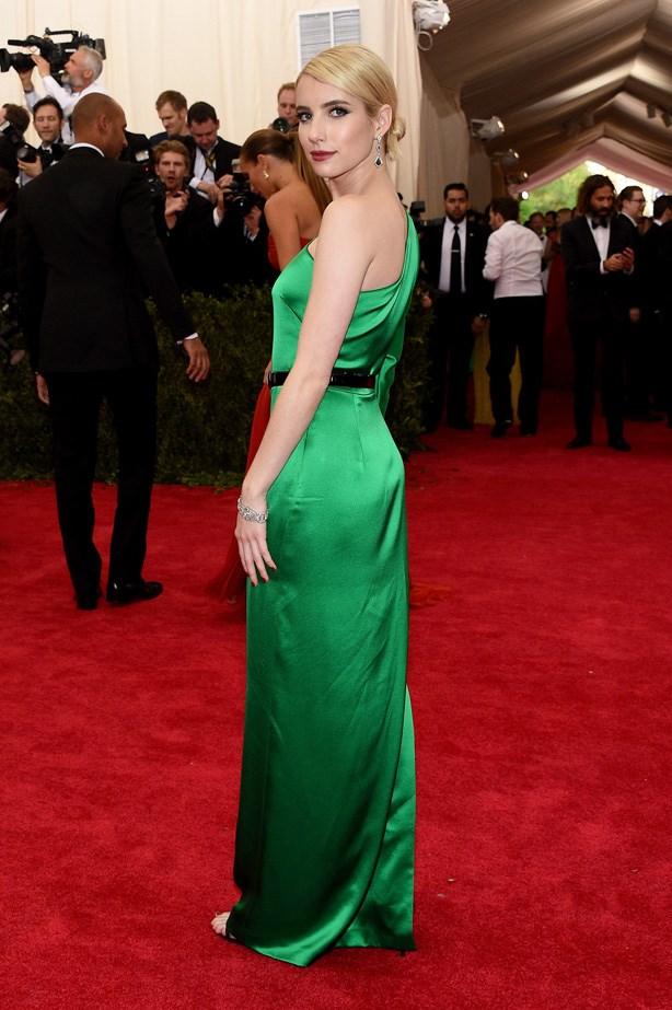 Emma Roberts in Ralph Lauren