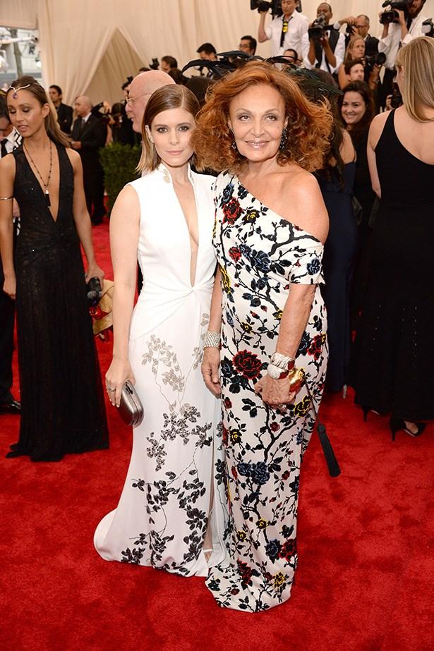 Kate Mara and Diane von Furstenberg