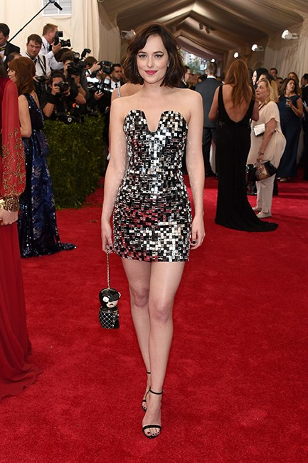 Dakota Johnson in Chanel