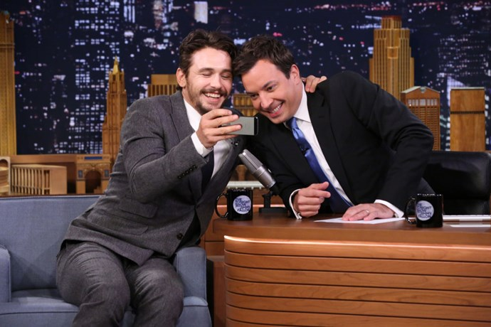 <strong>JAMES FRANCO AND JIMMY FALLON</strong>