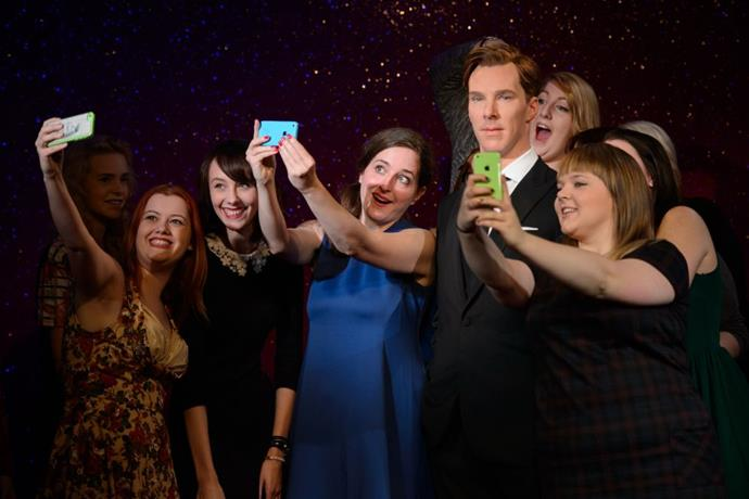 <strong>CUMBERBITCHES AND A BENEDICT CUMBERBATCH WAX FIGURE</strong>