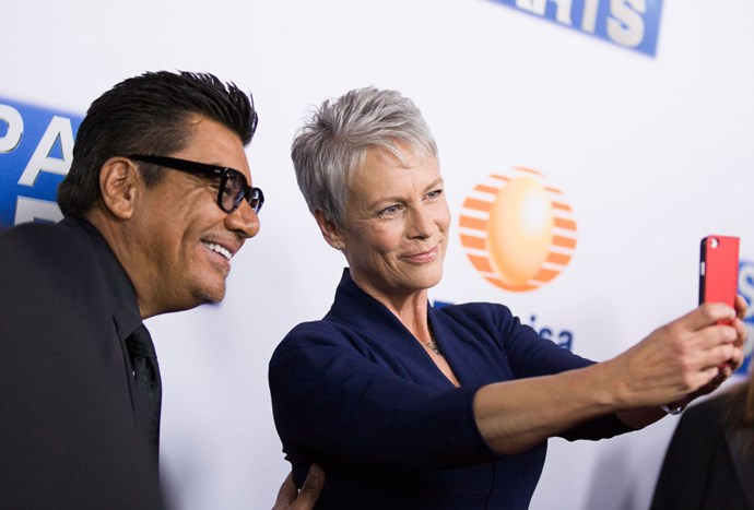 <strong>GEORGE LOPEZ AND JAMIE LEE CURTIS</strong>