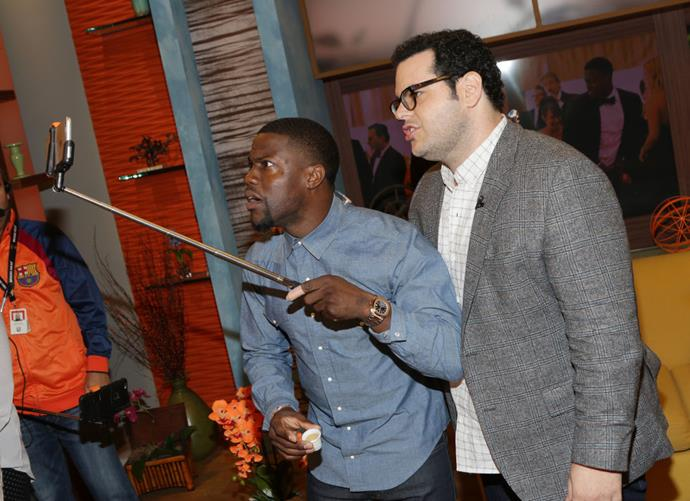 <strong>KEVIN HART AND JOSH GAD</strong>