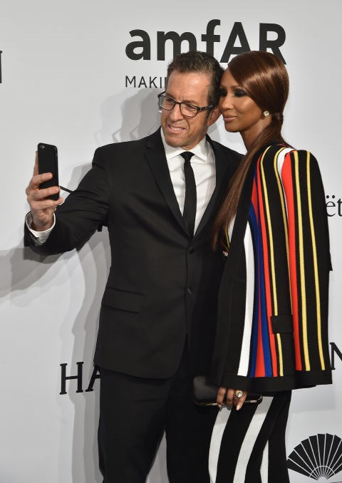 <strong>KENNETH COLE AND IMAN</strong>