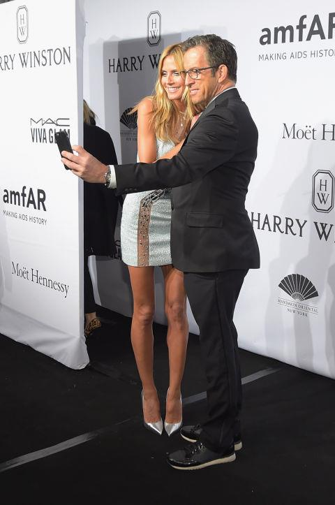 <strong>HEIDI KLUM AND KENNETH COLE</strong>