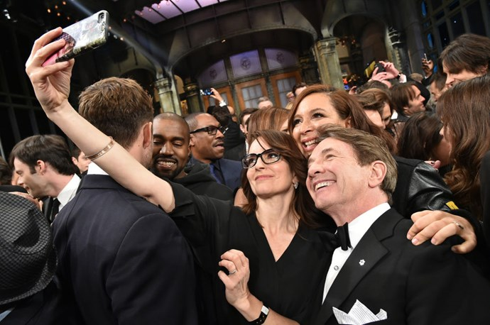<strong>TINA FEY, MAYA RUDOLPH, MARTIN SHORT, KANYE WEST, AND THE CAST OF 'SNL'</strong>