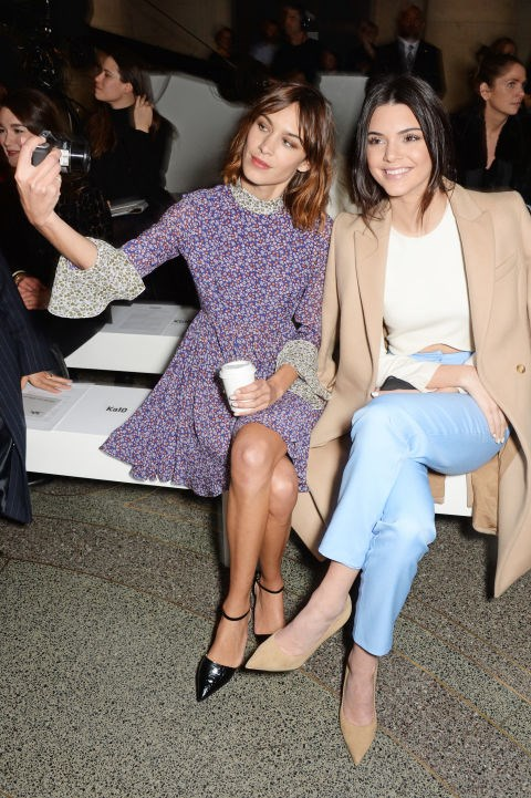 <strong>ALEXA CHUNG AND KENDALL JENNER</strong>