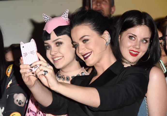 <strong>KATY PERRY AND KATYKATS</strong>