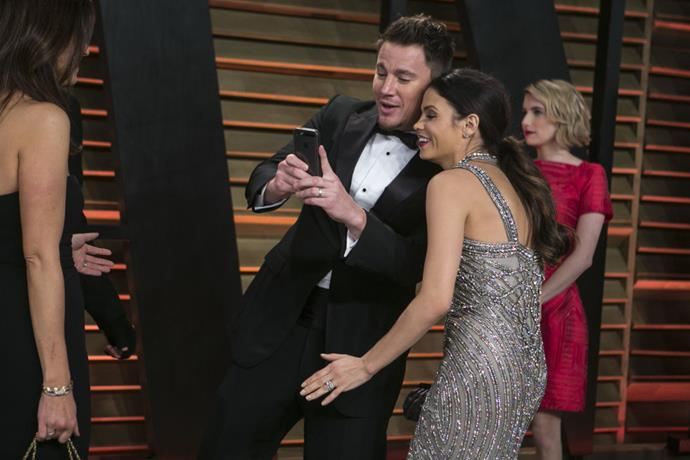 <strong>CHANNING TATUM AND JENNA DEWAN-TATUM</strong>