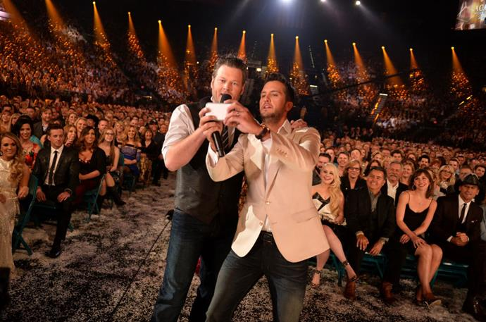 <strong>BLAKE SHELTON AND LUKE BRYAN</strong>