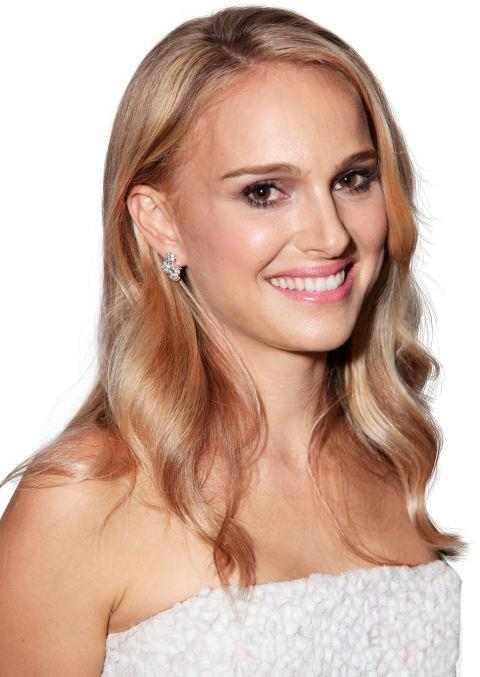 """2012<br> At the world premiere of the L.A. Dance Project: ELLE adores this rare beach-blonde moment: """"I look a little paler when I have lighter hair. I tend to wear more blush."""""""
