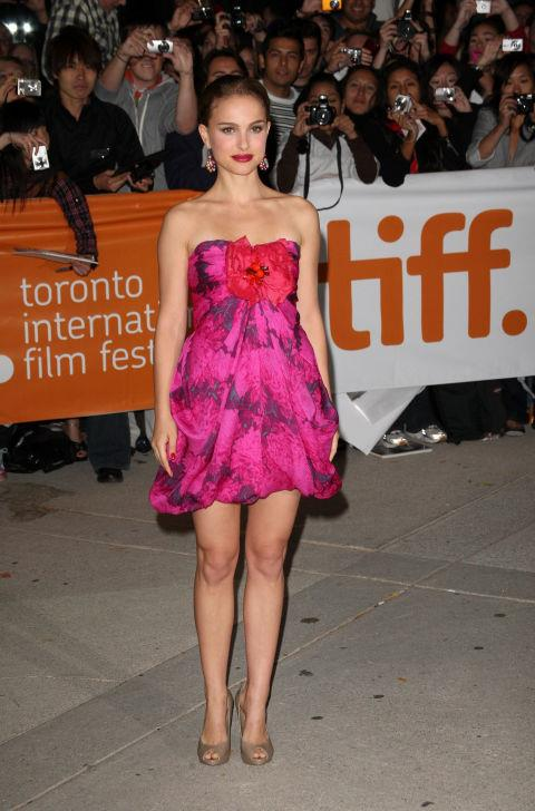 """2009<br> At the Toronto International Film Festival: """"I'm always scared about the lipstick. I was worried that it was on my teeth, or coming off. I usually bring it with me to touch up. But that also just reminds me of my grandma."""""""