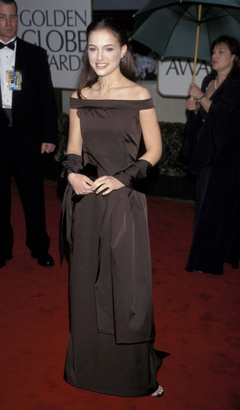 "2000<br> At the Golden Globes: ""I don't think there are any rules; that's the fun thing about fashion. Maybe you're in the mood to be dramatic."""