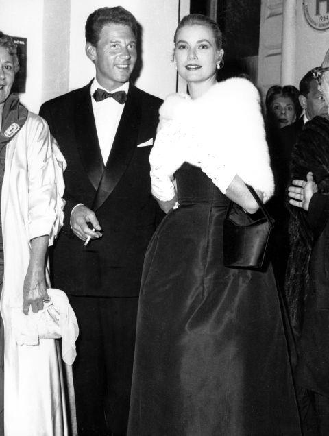 <strong>GRACE KELLY</strong> <BR> In 1955.