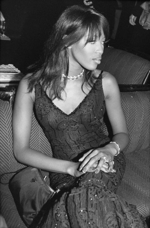 <strong>NAOMI CAMPBELL</strong> <BR> In 1995.