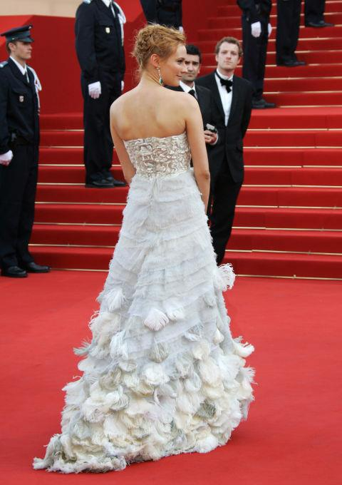 <strong>DIANE KRUGER</strong> <BR> Wearing Chanel in 2006.