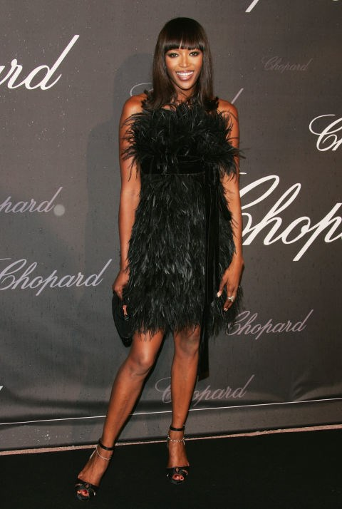 <strong>NAOMI CAMPBELL</strong> <BR> In 2007.